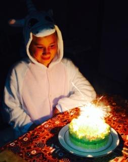 Hannah's Birthday: New Onesie
