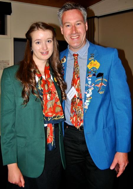 Maddie & Matthew wearing our blazers