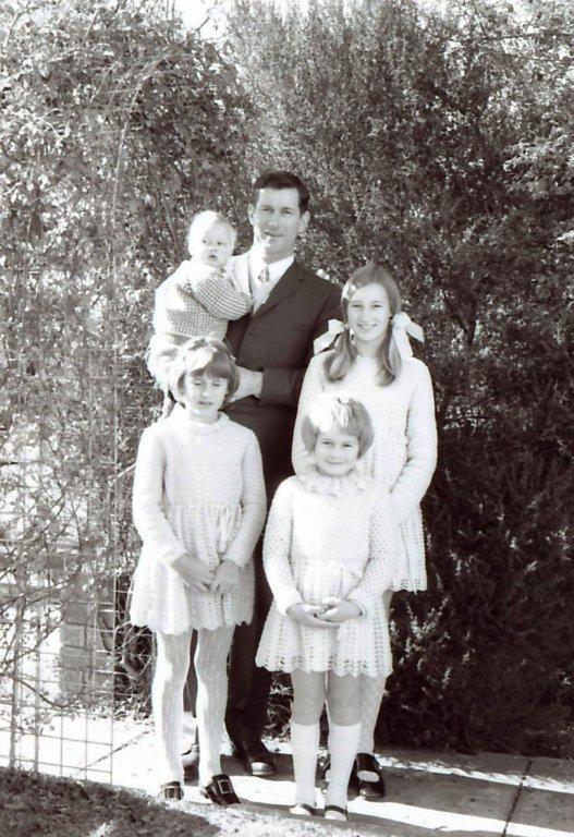 4 children & John 1971
