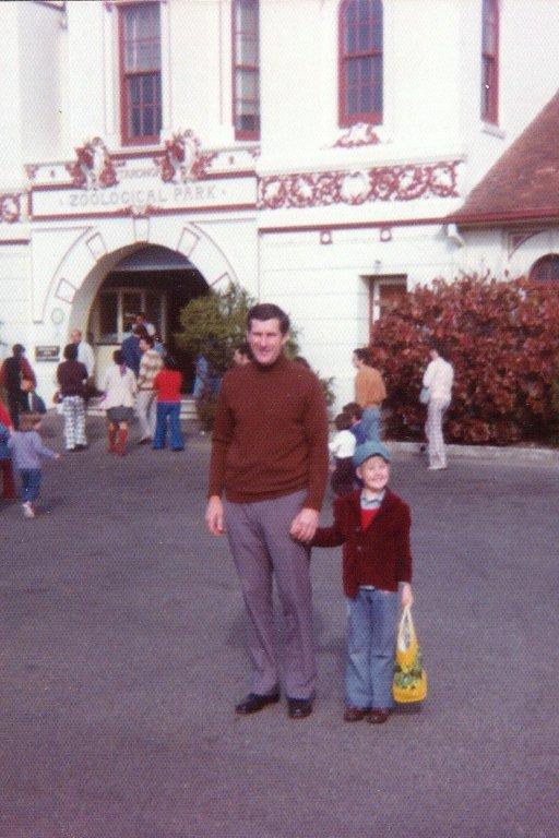 Dad and I at Taronga Zoo