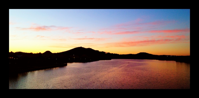 Lake Tuggeranong at Dusk
