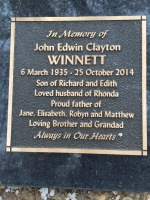 Dad's Gravestone Plaque